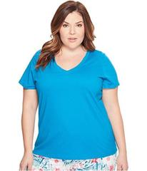 Jockey Jockey Cotton Essentials Plus Size V-Neck T