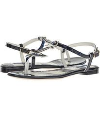 Dolce & Gabbana Thong Sandal with Anchor/Star