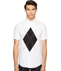 DSQUARED2 Mod Evening Argyle Shirt