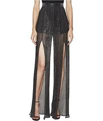 Just Cavalli Sheer Slit Pants