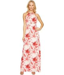 Tahari by ASL Maxi Floral Print Dress