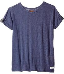 7 For All Mankind Slouchy V-Neck Tee (Big Kids)