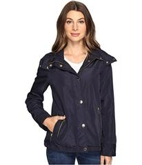 MICHAEL Michael Kors Hooded Snap Front Jacket M322