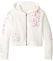 C&C California Kids Cropped Full Zip Hoodie (Littl