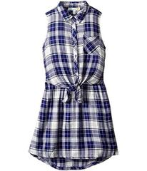 C&C California Kids Yarn-Dye Woven Dress (Little K