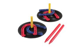 Rubber Horseshoes Game Set for Outdoor and Indoor