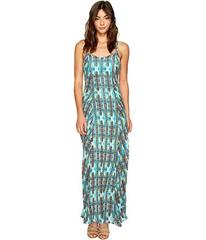 ROMEO & JULIET COUTURE Printed Maxi Dress with Bac