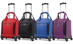"""American Tourister 16"""" Spinner Tote Underseat Carr"""