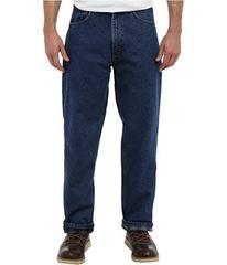 Carhartt Relaxed Fit Straight Leg Flannel Lined