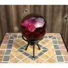"Echo Valley 4"" Orchid Globe with Stand"