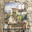 Tuscan Villa Outdoor Art