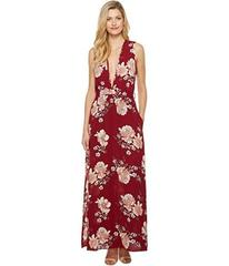 Brigitte Bailey Mira Sleeveless Floral Maxi Dress