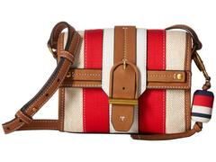 Tory Burch Canvas & Suede Crossbody
