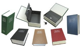 Dictionary Book Safes with Key Lock - Multiple Siz