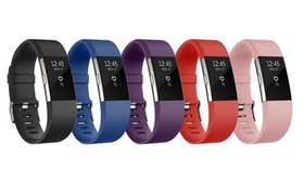 Silicone Sports Band for Fitbit Charge 2 Fitness T
