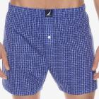 Windowpane Knit Boxer