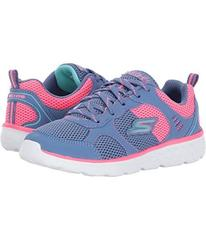 SKECHERS Pep Kicks Lace-Up (Little Kid/Big Kid)