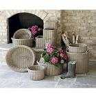 Loire Outdoor Rectangular Baskets - Assorted Set o