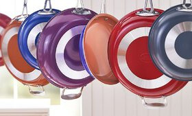 Gotham Steel Non-Stick Colored Fry Pans – As Seen