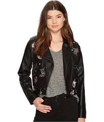 XOXO Cropped Moto Jacket