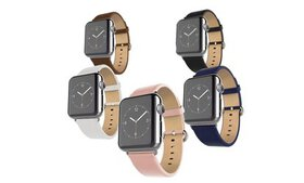 Waloo Leather Grain Apple Watch Replacement Band
