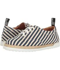 LOVE Moschino Striped Canvas Shoe