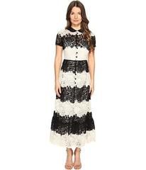 RED VALENTINO Macrame Dress