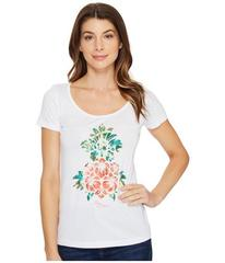 Tommy Bahama Floral Pineapple Short Sleeve Tee