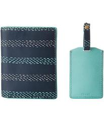 Fossil Keely Passport Case and Luggage Tag Gift Se