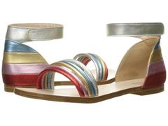 Chloe Leather Rainbow Colors Sandals (Little Kid)