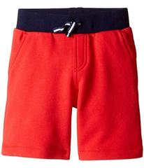 Lacoste Small Elastic Waist Shorts (Toddler/Little
