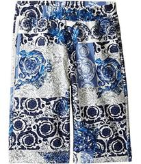 Versace All Over Barocco Print Sweatshorts (Big Ki