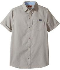 7 For All Mankind Short Sleeve Textured Knit Shirt