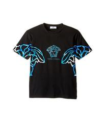 Versace Short Sleeve Multicolored Medusa T-Shirt (