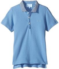 Lanvin Short Sleeve Polo Shirt w/ Contrast Collar