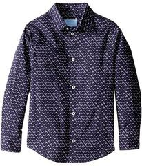 Lanvin All Over Print Long Sleeve Button Up Shirt