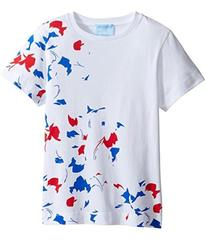 Lanvin Short Sleeve Graphic Print T-Shirt (Little