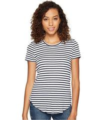 Splendid 1x1 Venice Stripe Crew Neck Top