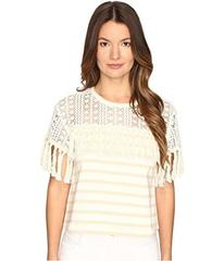 See by Chloe Jersey Fringe Blouse