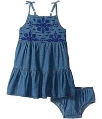 Lucky Brand Denim Embossed Dress (Toddler)
