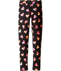 Moschino All Over Heart Print Leggings (Big Kids)