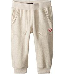 True Religion Branded Cropped Sweatpants (Toddler/
