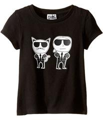 Karl Lagerfeld Short Sleeve Mini Me with Front/Bac