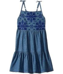 Lucky Brand Denim Embossed Dress (Little Kids)