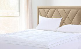 Plush Quilted Fitted Mattress Pad