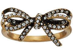 Marc Jacobs Bow Pave Twisted Ring