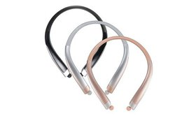 Premium Wireless Stereo Headphones Neckband Sweatp