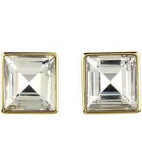 Michael Kors Cocktail Party Crystal Square Stud Ea