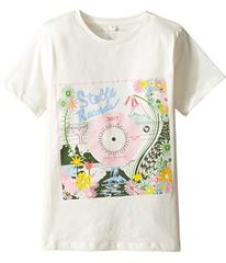 Stella McCartney Arlow Floral 'Stella Records' Tee