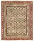 Pasargad Antique Hand-Knoted Agra Lamb's Wool